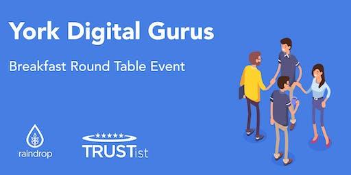 York Digital Gurus - Breakfast Networking & Round Table Event