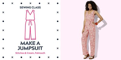 SEWING CLASS - MAKE A JUMPSUIT - 2 DAY COURSE