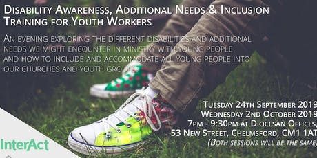 Disability Awareness, Additional Needs & Inclusion Training (Youth Workers) tickets