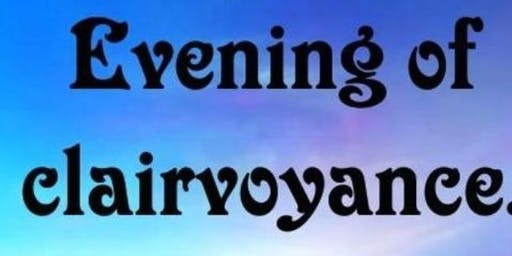 Evening of clairvoyance leeds