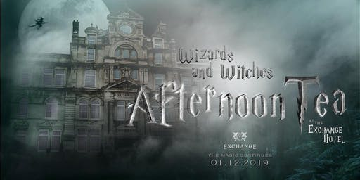 Wizards & Witches Yule Ball Afternoon Tea