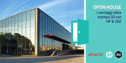 Open House - Gimatic s.r.l. racconta i vantaggi della stampa 3D con HP & 3DZ