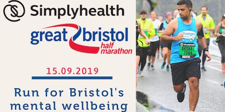 Bristol Half Marathon - Run for Bristol's mental wellbeing tickets