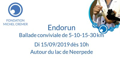 Endorun - Ballade conviviale le dimanche 15/09/2019 dès 10h30