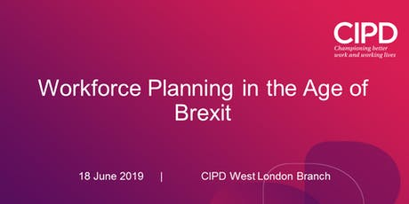 Workforce Planning in the Age of Brexit tickets
