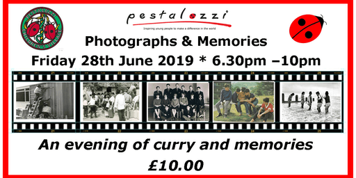 Pestalozzi Photographs and Memories night