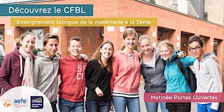Matinées portes ouvertes du CFBL - en français tickets