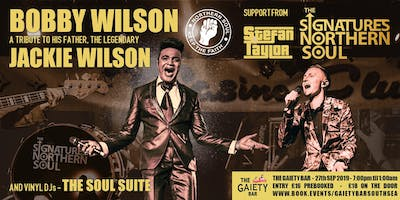 Bobby Wilson, Stefan Taylor & The Signatures
