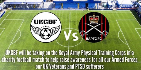 Armed Forces Charity Football Match tickets