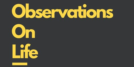 Observations On Life - Book Launch