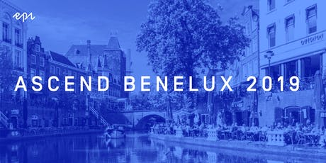 Ascend Benelux 2019 tickets