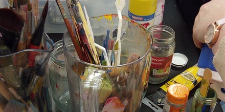 Acrylic Painting Workshop: Summer Season tickets