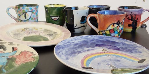 Pottery Painting Workshop: Summer Season