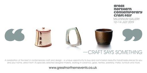 Great Northern Contemporary Craft Fair Sheffield