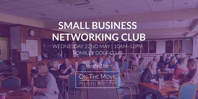 SMALL BUSINESS NETWORKING CLUB | MAY MEET UP