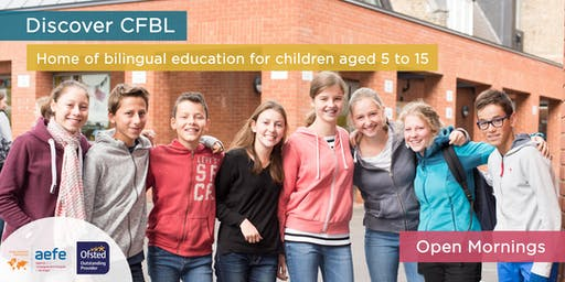 CFBL Open Mornings - in English