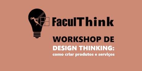 DESIGN THINKING: COMO CRIAR PRODUTOS & SERVIÇOS. ingressos