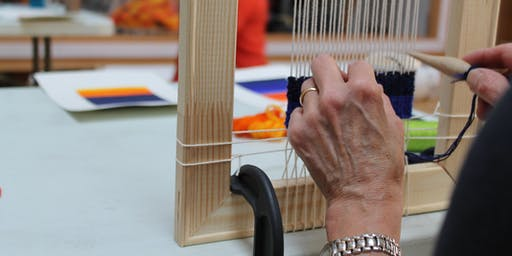 Tapestry Weaving Experience Day
