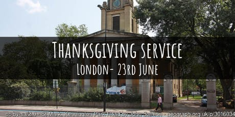 40th Anniversary Thanksgiving Service tickets