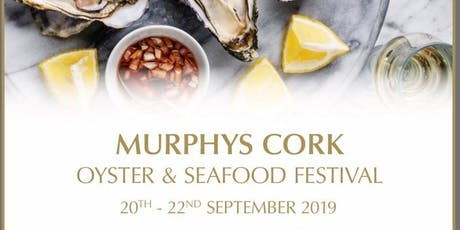Opening night at The Murphy's Cork Oyster and Seafood Festival 2019 with Paddy Casey tickets