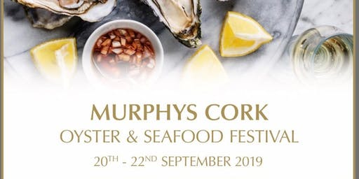 Opening night at The Murphy's Cork Oyster and Seafood Festival 2019 with Paddy Casey
