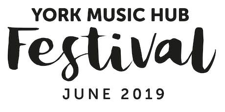 York Music Hub Festival Sunday Showcase tickets