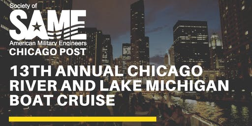 13th Annual Chicago River and Lake Michigan Boat Cruise Fundraiser