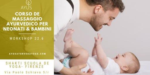 Corso de Massaggio Ayurvedico per neonati & bambini