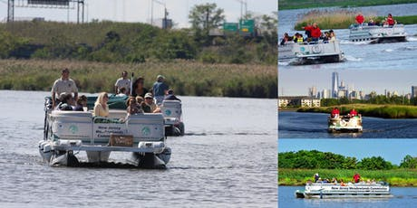 Pontoon Trip Through the New Jersey Meadowlands tickets