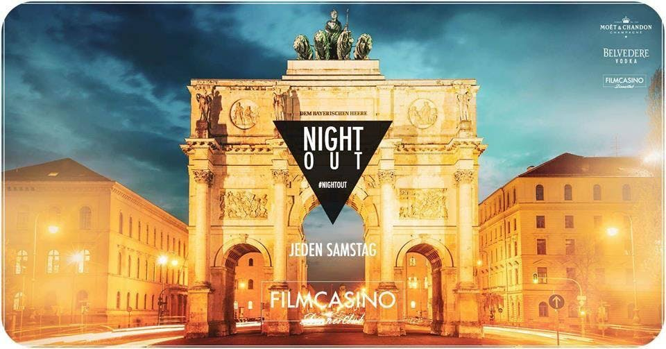 Nightout - Tanzen am Odeonsplatz (Premium Event) by Filmcasino & Eventbrite