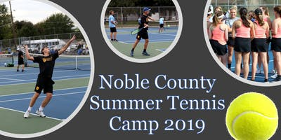 Noble County Summer Tennis Camp 2019