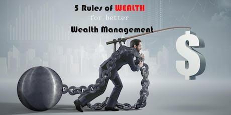 Have a MILLIONAIRE Mindset by building the right path of 5 Rules of WEALTH tickets