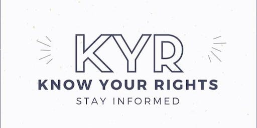 Know Your Rights Training: For Advocates and Agencies- Missouri