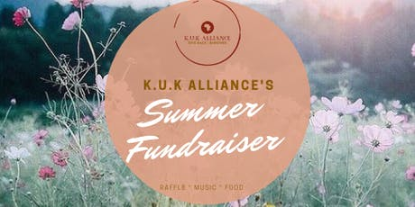K.U.K Alliance Summer Fundraiser tickets