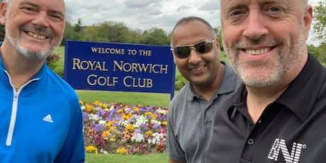 BNI Norfolk Golf Society June tickets