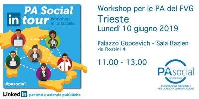 PA Social in Tour - Trieste