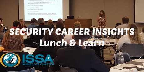 Security Career Insights Lunch & Learn (September 2019) tickets