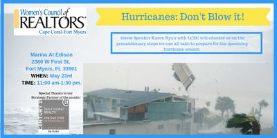 Women's Council of REALTORS Cape Coral-Fort Myers Hurricane Prep