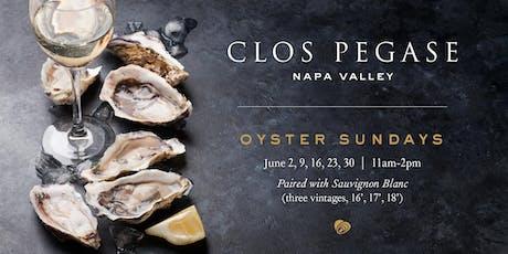 Oyster Sundays at Clos Pegase tickets