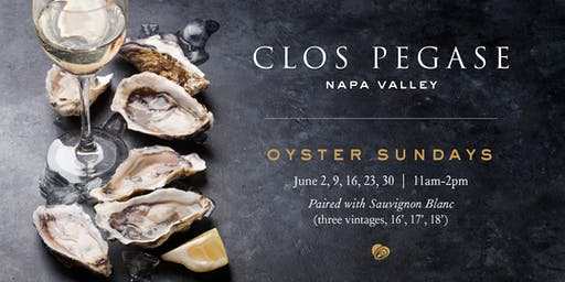 Oyster Sundays at Clos Pegase