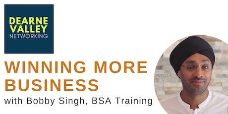 Sales Masterclass with BSA Associates tickets