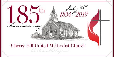 Cherry Hill United Methodist Church 185th anniversary celebration