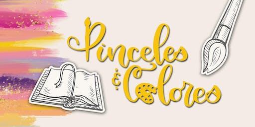PINCELES & COLORES - 1er BOOTCAMP DE BIBLE JOURNALING & LETTERING EN PR