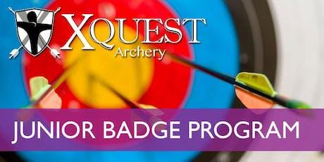 (OCT) Archery 4-week Junior Badge Program - Saturdays @ 11 am [JB4-S11] tickets