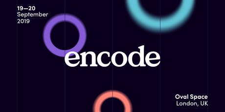 Encode: Data journeys in design, journalism and education tickets