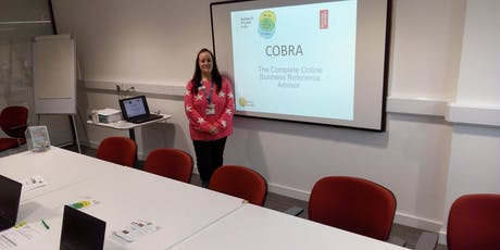 How to use COBRA: Complete Online Business Reference Advisor - Exeter tickets