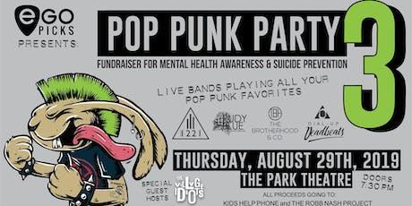 POP PUNK PARTY 3 - Fundraiser Show tickets