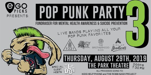 POP PUNK PARTY 3 - Fundraiser Show Tickets, Thu, Aug 29, 2019 at 7