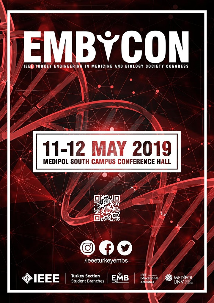 EMBCON'19 / IEEE Turkey Engineering in Medicine and Biology Congress image