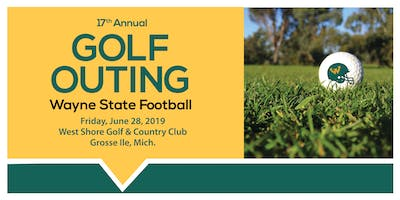 17TH ANNUAL WSU FOOTBALL GOLF OUTING